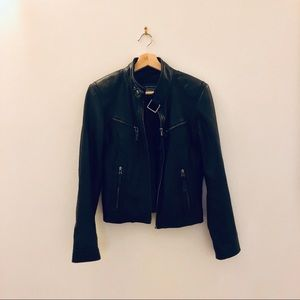 Genuine Leather Jacket - Size Small